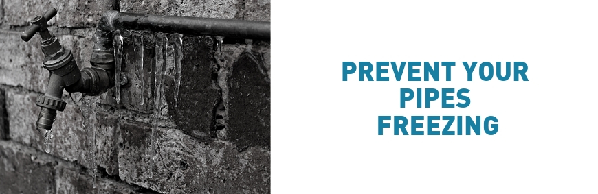 How To Prevent Outside Pipes and Taps from Freezing