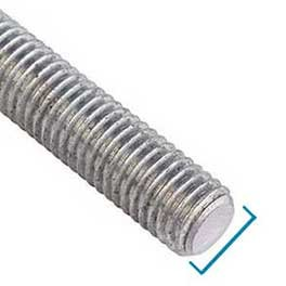 threaded bar diameter