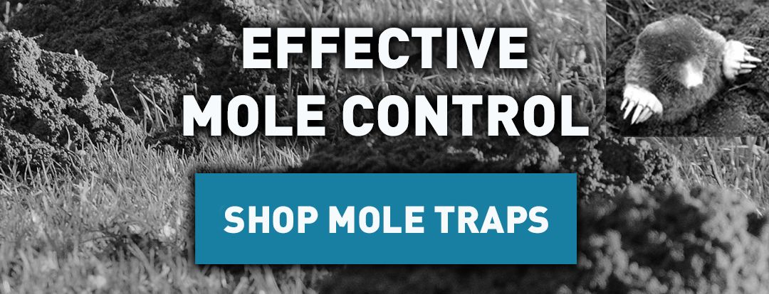 Mole Control - An image of mole mills and a mole