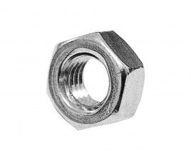 a hexagonal nut