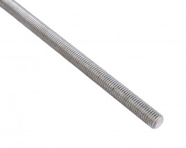 a single bar of threaded bar